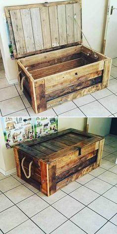 Awesome DIY Pallet Ideas Made From Scrap WOod - DIY Woods diy pallet, diy pallet sofa, diy palle