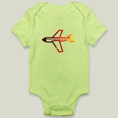 airplane Onesy by haroulita on BoomBoomPrints