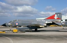 XV587 Royal Navy  McDonnell Douglas F-4K Phantom FG1 010 (cn 3331/0045) Seen at NAS Miramar in April, 1975, with 892 Squadron.