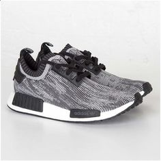 low priced 56d59 87563 Adidas NMD Runner PK Core Black Footwear White Womens Fashion, Runway  Fashion, Fashion Trends