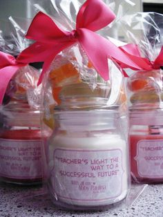 Teacher's Day candle idea ♥