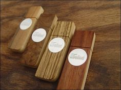 Thalbach Hand Crafter Wooden USB Drives   Photo
