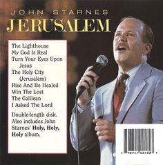 John Starnes Jerusalem / Holy, Holy, Holy  2 on 1 CD  Shiloh 1992