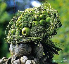 Topper in groen