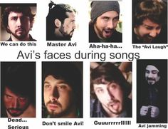 "Avi Kaplan ya'll Hahahah ""guuuurlll"" So accurate."