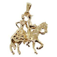 Andalous sur leur cheval
