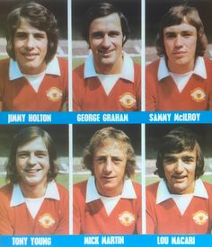 6 Man Utd stars in Manchester United Players, Old Trafford, Fa Cup, Man United, Football Boots, Superstar, How To Memorize Things, Soccer, The Unit
