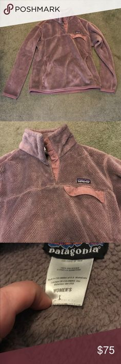Pink Patagonia Sweatshirt! Selling a pink Patagonia sweatshirt! Size Large. In excellent condition! Patagonia Tops