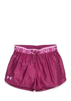 Under Armour  Printed Play Up Shorts Girls 7-16
