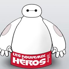 Fabrique ton propre robot Baymax gonflable !