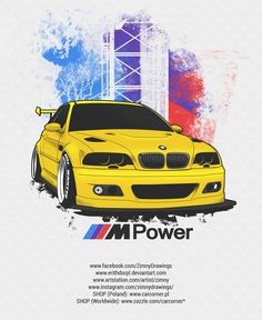BMW e46 Mpower by erithdorPL.deviantart.com on @DeviantArt