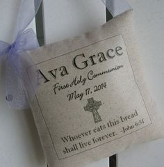 First Communion Gift For Girls Gifts Custom by AbundantHaven