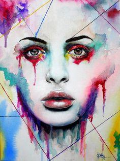 "Saatchi Online Artist Bella Harris; Painting, ""Extension of You"" #art"
