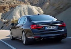 New Review BMW 7 Series 2016 Release Rear View Model