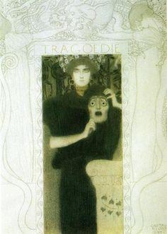Tragedy, 1897 - Gustav Klimt