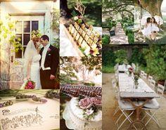 HochzeitsdekoIdeen Schaukel Garten Tisch Einladungen