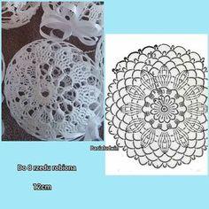 Witam:) To co wczoraj zobaczyłam na swojej tablicy na FB S - SalvabraniHanne Fagerås's media content and analytics Crochet Christmas Decorations, Crochet Decoration, Crochet Ornaments, Christmas Crochet Patterns, Holiday Crochet, Crochet Snowflakes, Christmas Baubles, Crochet Doily Rug, Crochet Ball