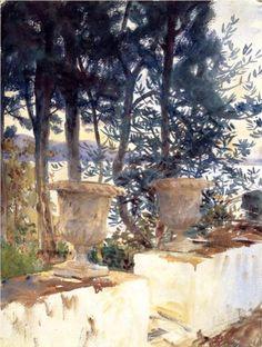 Corfu+The+Terrace+-+John+Singer+Sargent