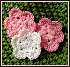 The Shtick I Do: Crochet Thread Flower with Free Pattern