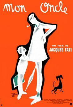 mon oncle. Jacques Tati.