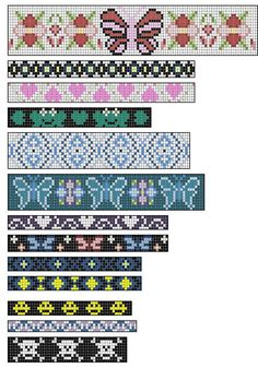 Bien connu Free Printable Loom Beading Patterns | loom beading bracelet  RJ31