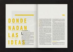Editorial / David Lynch on Editorial Design Served
