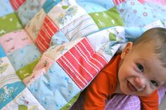 laura-ingalls-wilder cheater quilt prudent baby
