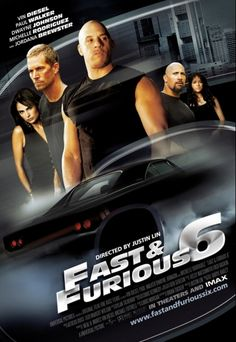 Fast and Furious 6 movie poster - See best of PHOTOS of FAST & FURIOUS 2013 film http://www.wildsoundmovies.com/the_fast_and_the_furious_6.html