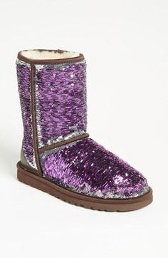 Sparkle & shine. So cute, I'm totally buying these in the winter! Except I want gold and silver