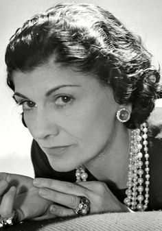 """Coco Chanel    """"Fashion fades, only style remains the same""""    The daughter of a laundrywoman and a marketstall holder, she worked as a club singer and hat maker before becoming one of the greatest fashion designers the world has ever seen."""