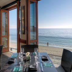Splashes Restaurant, Laguna Beach Right on the sand!