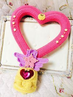Chibi Moon bell crochet  -not a pattern