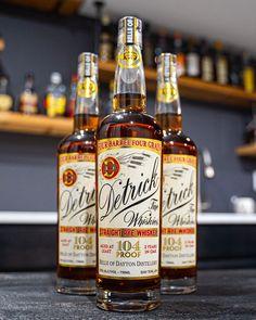 Detrick Straight Rye Whiskey Review Rye Whiskey, Cigars And Whiskey, Whiskey Bottle, Vodka Bottle, White Oak Barrels, Orange Candy, Malted Barley, Jolly Rancher, Sweet And Spicy