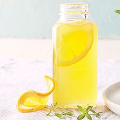 Homemade Simple Syrup Recipes: will keep in fridge for 3 mos. Includes orange-tarragon, strawberry-chile, lavender-mint, pineapple-basil, lemon, lime, etc.