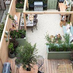 Front Garden Landscaping Sophie Hartman tuin make-over Love Garden, Dream Garden, Small Gardens, Outdoor Gardens, Garden Makeover, Patio Interior, Outdoor Pergola, Small Pergola, Pergola Plans