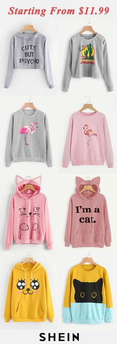 Cute sweaters, outfits for teens, school outfits, girl outfits, cute Teen Fashion Outfits, Outfits For Teens, Girl Outfits, Casual Outfits, Cute Outfits, Womens Fashion, Cute Sweatshirts, Cute Shirts, Hooded Sweatshirts