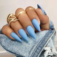 Nails stiletto Nail Shapes New Trends and Designs of Different Nail Shapes stiletto nail designs Acrylic Nails Stiletto, Acrylic Nail Shapes, Pointy Nails, Natural Stiletto Nails, Natural Nails, Types Of Nails Shapes, Different Nail Shapes, Pretty Nail Designs, Nail Art Designs
