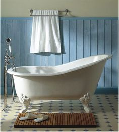 Herbeau Creations Marie Louise Cast Iron Claw Foot Bath Tub - traditional - bathtubs - other metro - Vintage Tub & Bath