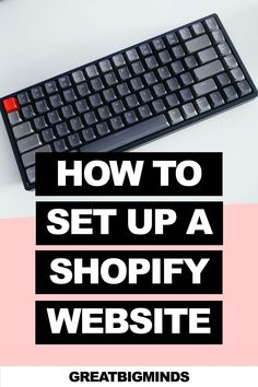 Learn how to set up a Shopify store in 10 easy steps. By the end of this step by step tutorial, you would have learned how to start Shopify store step by step from the ground up today. Read more inside. #shopify #shopifyforbeginners #shopifytips #shopifystore #onlinestore Boutique Stores, Website, Tips, Easy, Clothing Boutiques, Counseling