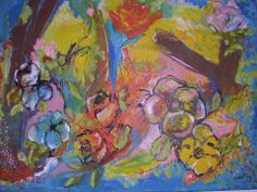 "Cornucopia - Oil on Canvas 24""x36"" by Georgie Cowan MA at McNeill Gallery Online £750 Black Friday £625"