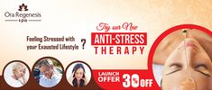 Feeling Stress with your Exhausted Lifestyle? Try Our New Anti-Stress Therapy at @OraRegenesis. Launch Offer 30% OFF  #AntiStress #stressfree #stressed #MassageTherapy #oraspa #Aundh #Kondhwa #KalyaniNagar #Pune #Bandra #Mumbai