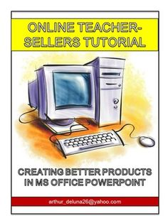 Get this and other tutorials for teacher-sellers for FREE if you sign up for TeachersPayTeachers using the following link: https://www.teacherspayteachers.com/Signup/referral:misterdee13