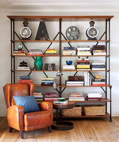 I really like this bookcase.  I think I could make it.