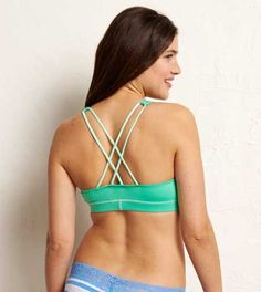 Aerie Crisscross Racerback Bra - Buy One, Get One 50% Off
