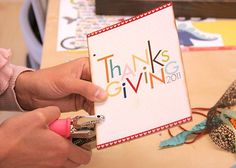 FREE Thanksgiving Printable mini album
