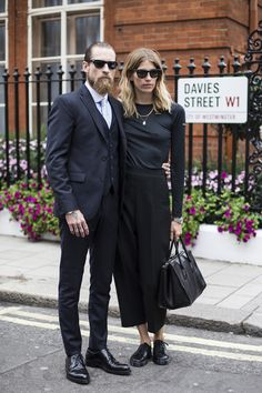 Street Style Crush: Veronika Heilbrunner via Mode Style, Style Me, Justin O'shea, Couple Style, Fashion Gone Rouge, Stylish Couple, Fashion Couple, Couple Outfits, Street Style