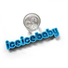 Buy Ice Ice Baby Text Ice Cube Tray today at IWOOT. We have great prices on gifts, homeware and gadgets with FREE delivery available. Ice Ice Baby, Baby Cubes, Yellow Octopus, Ice Cube Trays, Ice Tray, Ice Cubes, Take My Money, Shops, Gag Gifts