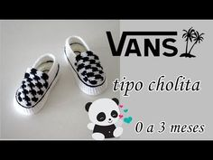 vans tejidos a crochet modelo tipo cholitas - YouTube Crochet Converse, Crochet Baby Shoes, Crochet Baby Clothes, Crochet For Boys, Crochet Slippers, Knitting For Kids, Baby Knitting, Knitted Booties, Baby Booties