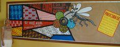 Painel da Campanha contra a Dengue