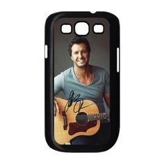 Luke Bryan Design Plastic Black White Snap On Case For Samsung Galaxy S3:Amazon:Cell Phones & Accessories